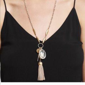 Stella&Dot Victoria Tassel Necklace
